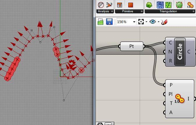 tangent vector and flat curvature – Digital Design & Computation
